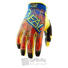 ONeal Jump MX Cross Handschuhe Mixxer Blau Orange XXL MTB Fahrrad Mountainbike