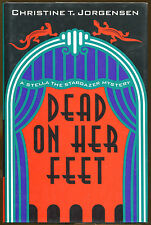 Dead on Her Feet by Christine T. Jorgensen-1st U.S.-Publisher Review Copy-1999