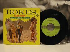"""THE ROKES - ECCOLA DI NUOVO / RICORDO QUANDO ERO BAMBINO 45 GIRI 7"""" EX/EX+ 1967"""