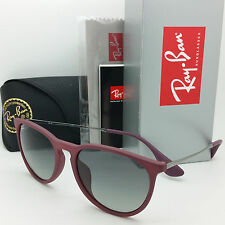 NEW RAYBAN Sunglasses RB4171F 6001/11 Red Silver Grey Gradient Erika NIB GENUINE