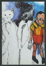 Jim Dine : Pinocchio : Tow Thieves and Liar - cartolina del 2012