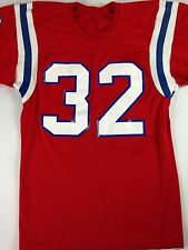 New England Patriots Jersey VTG #32 Red White Blue Champion NFL Football Medium