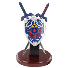 Zelda Hylian Letter Opener Shield & Sword Table Top Set Collectible