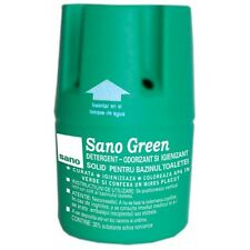SANO GREEN WATER TOILET BLOCK BOWL CLEANING FRESH WC tank TABLET Deodorizing