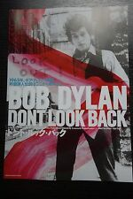 Bob Dylan Don't Look Back Japanese Chirashi Mini Ad-Flyer Poster 1967-2017 Re