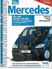 Buch Reparaturanleitung Mercedes Vito V-Klasse (W638) Bj. 2000 - 2003 Band 1320