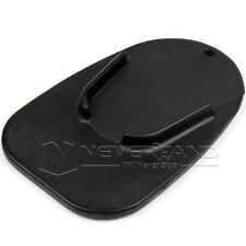 "1x Motorcycle 3.2"" Kickstand Pad Support Kick Stand Black Color New"