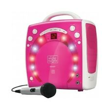 Karaoke Player Machine System Girls Players Songs Music Kids Disco Light Kareoke