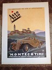 Lubrificanti ASSO AVIO Montecatini 1936