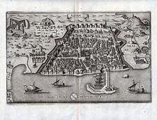 ALGIER Madīnat al-Dschazā'ir - schöne Ansicht von Merian 1646 - Original!