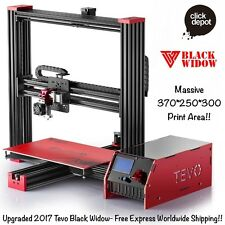 TEVO 2017 BLACK WIDOW 3D PRINTER DIY KIT+BL TOUCH SENSOR-HUGE 370x250x300 BED!!!