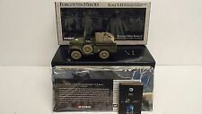 CORGI US 51703 FORGOTTEN HEROS WC51. 3/4 TON WEAPONS CARRIER BOXED (BS473)