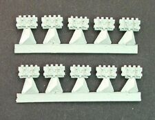 EWM GACC14 1/76 Diecast WWII German Panther or Tiger II Track Links. 10 Pieces.
