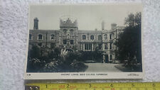 Postcard Cambridge Masters Lodge Jesus College Posted with SG504 C.105 Stearn