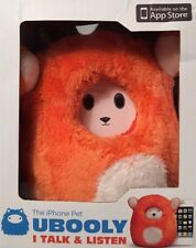 Ubooly iPhone iPod Interactive Pet Orange Smart Learning Educational Toy NEW