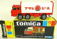 FUSO Wing Roof Truck TOMICA No 76 TOMY 1:127 Made in Japan New in Box  å