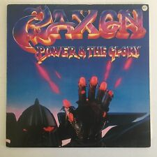Saxon - Power and The Glory - 1983 England - Carrere - CAL 147 - Vinyl LP