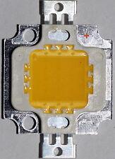 5 PEZZI HIGH POWER 10 W LED Chip WW, 9 - 12v, NUOVO, 950 LM, COB, ACQUARIO, AUTO