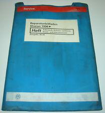 Werkstatthandbuch VW Sharan I Synchro Fahrwerk Achsen Lenkung Front + Allrad
