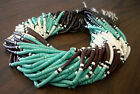 Synthetic Green Turquoise Combination Heishi Beads (4 - 5mm, 16 Inches Strand)
