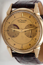 Vintage LeCoultre 14k Yellow Gold Gold FUTUREMATIC Mens Dress Watch RARE