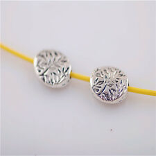 Bulks 50pcs New Bracelet Making Findings Crafts Metal Beads Spacer Charms 8x11mm