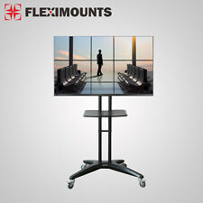 Fleximounts C03 LED LCD Mobile TV Cart Stand Mount for Samsung 32 40 46 47 50 60