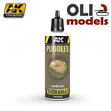 Diorama Series: PUDDLES EFFECTS Liquid Crystalline 60ml - AK Interactive 8028