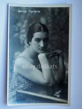 Cinema ANNA FONTANA attrice muto silent movie foto Vettori Bologna 994