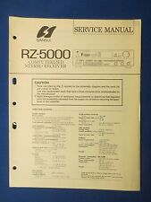 SANSUI RZ-5O00 RECEIVER SERVICE MANUAL ORIGINAL FACTORY ISSUE THE REAL THING