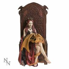 NEW * FRIENDS FOREVER * ANNE STOKES  FIGURINE STATUE BY NEMESIS NOW FREE POST