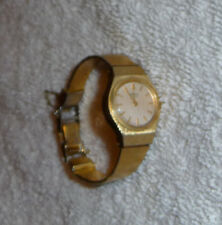 Vintage 1980s Collector's Seiko Gold Ladies Extra-Small Metal Band Watch