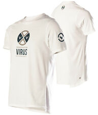 VIRUS Men's PREPARED Premium Custom White T-shirt XL (PC4), Crossfit,Gym,BJJ,MMA