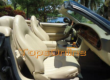 Jaguar XK8 XKR Original Leather Replacement Front Seat Cover Kit 1997 to 2000
