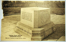 Postcard c. 1920's - Canadian Forces Memorial - Courcelette - Somme - France