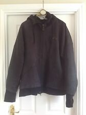 MENS NIKE AIR Jacket Black Hooded Track Top Size Large L