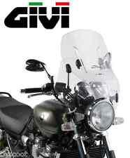 Bulle pare-brise universel GIVI AF49 modulable 4 points 53 x 52 cm moto incolore
