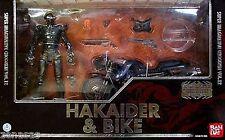 Used Bandai S.I.C. Classic 2007 Hakaider & Bike PAINTED