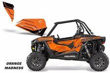 AMR Racing Graphic Wrap Kit Polaris RZR 1000 UTV OEM Door Inserts 2014 O MADNESS