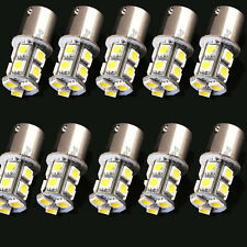 10X White 1156 P21W Ba15s 13 5050 SMD LED Brake Tail Turn Signal Rear Light Bulb