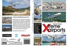 World's XTREME AIRPORTS SPECTACULAR – Volume 2 DVD Video-New & Fast Ship