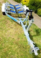 Precision Boat Trailer Drive On Galvanised 6.5mt TANDEM Braked, ready for pickup