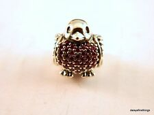 NEW!  AUTHENTIC PANDORA CHARM  RED ROBIN #791731CZR   P