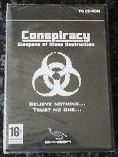 Conspiración de armas de destrucción masiva Shooter PC CD-ROM juego nuevo y Sellado