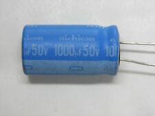 Lot de 10 - condensateur chimique radial 1000µF 1000uF 1000MF 50V nichicon 125°C