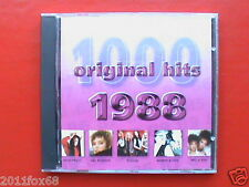 Pat Benatar Poison Mel & Kim Wendy & Lisa 1000 original hits 1988 Raro CD 2001