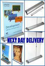 NEXT DAY DELIVERY A4 DESKTOP ROLLER BANNER EXHIBITION STAND HARDWARE ONLY