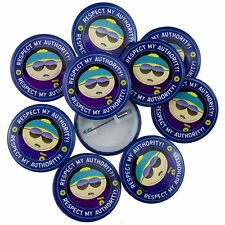 10 x 38mm South Park Respect My Authority Official Badges Wholesale Price