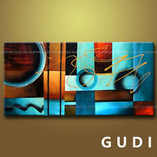 GUDI- Modern hand-painted oil painting abstract art wall decoration Unframed