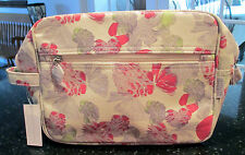 "CRABTREE & EVELYN POPPY PRINT COSMETIC BAG (75005), 9 1/2"" W, 7 1/2"" H, 3 1/2"" D"
